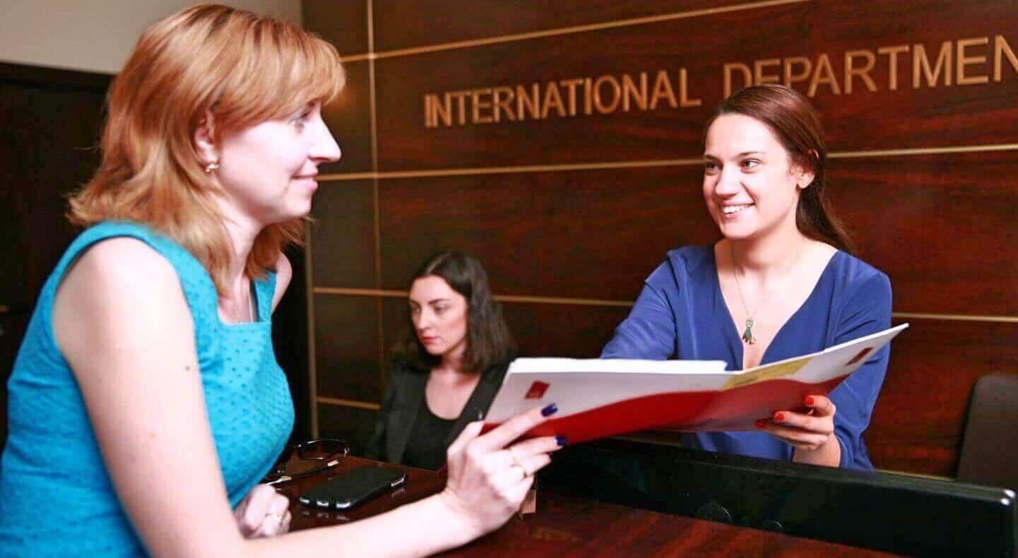 международный отдел клиники Ихилов